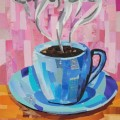 Cup of Joe Coffee Cup Collage by Megan Coyle