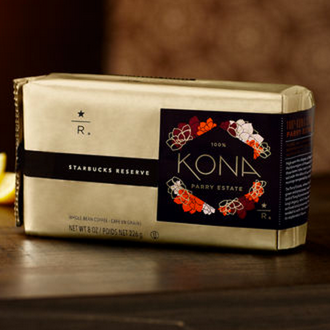 Starbucks Reserve Kona Parry Estate Coffee