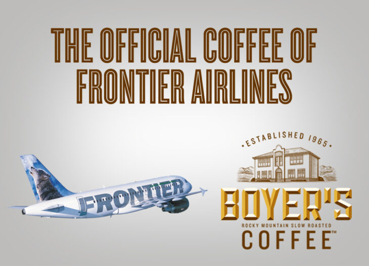Boyer's Coffee - The Official Coffee of Frontier Airlines