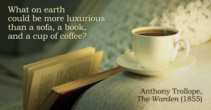 Anthony Trollope quotation