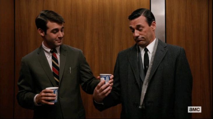 Anthora Cup on Mad Men