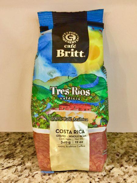 Café Britt Tres Ríos Valdivia blend coffee
