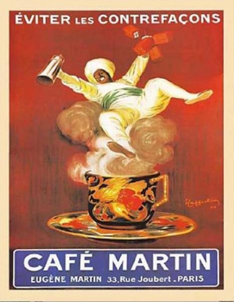 Café Martin poster by Leonetto Cappiello