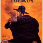 Iberia Cafe con Leche poster by Leonetto Cappiello