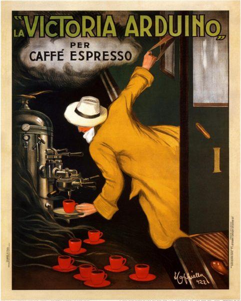 La Victoria Arduino poster by Leonetto Cappiello