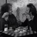 Steven Wright and Roberto Benigni in Coffee and Cigarettes