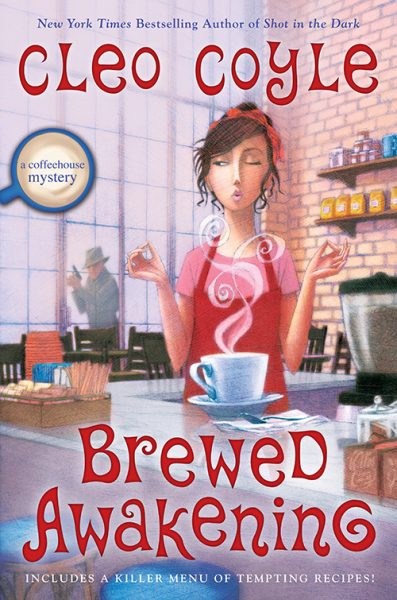 Book cover for Brewed Awakening by Cleo Coyle