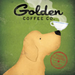 Ryan Fowler Golden Dog Coffee Co. Illustration