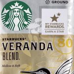 Starbucks Veranda Blend light roast coffee