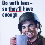 Do with less World War 2 poster
